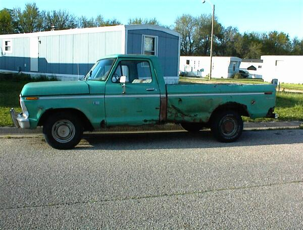 Vince's 73 Ford F-150